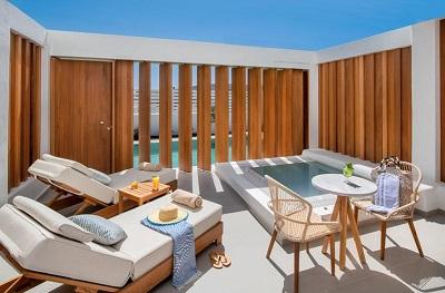 TUI BLUE Meltemi Blu - adults only hotels Santorini Griekenland